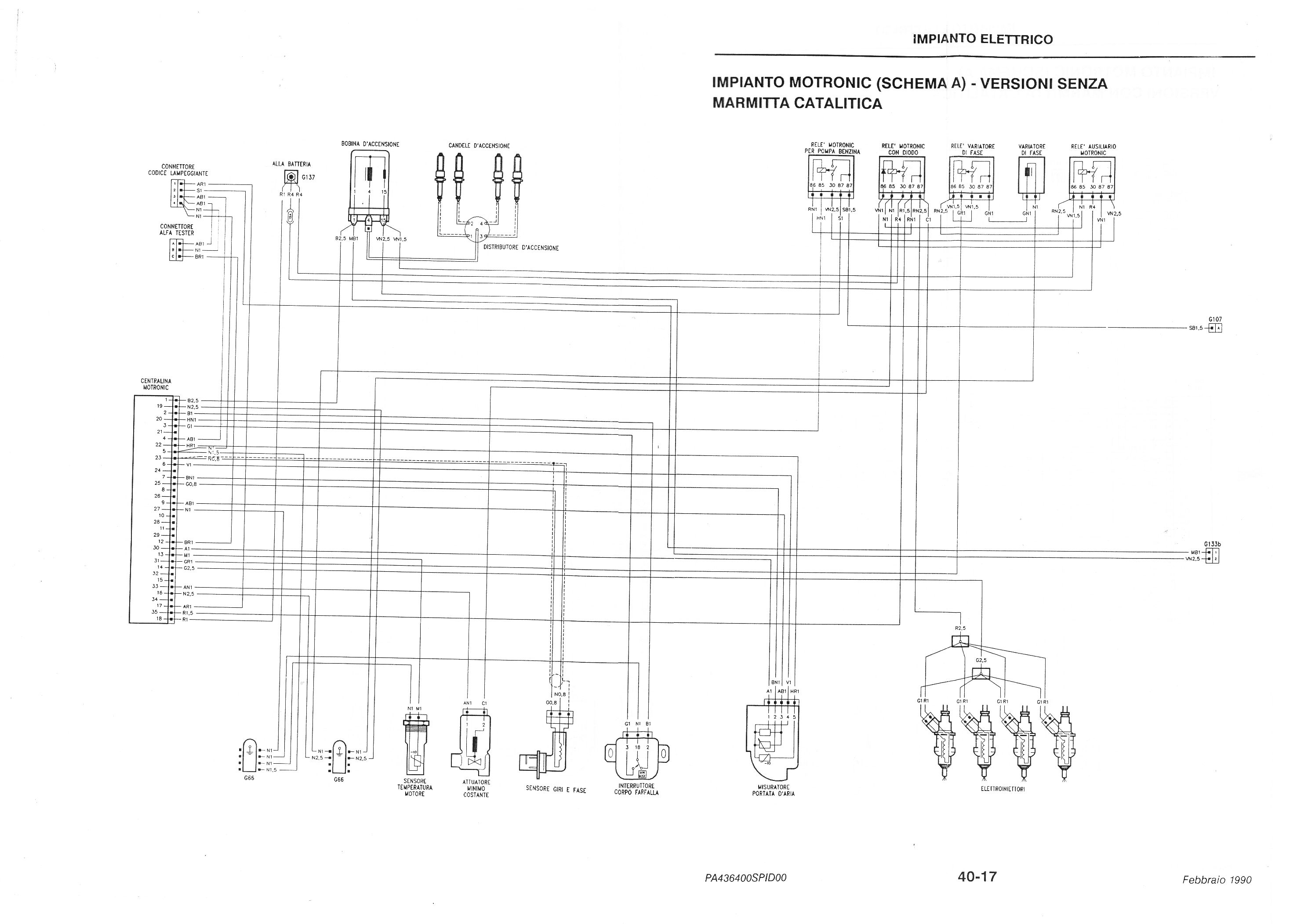 schema elettrico giulietta 2010  schema elettrico